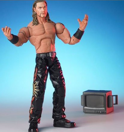 Tna Total Non Stop Action Wrestling - TNA Total Nonstop Action Wrestling Figure - LANCE HOYT with TV Monitor