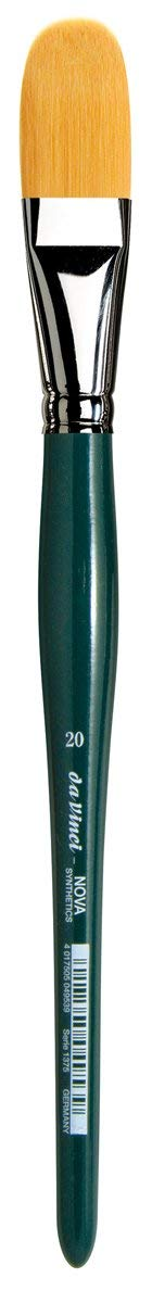 da Vinci Nova Series 1375 Utility Brush, Utility Filbert Synthetic, Size 20