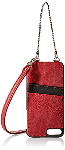 K. Carroll Secure Style RFID Protective Case with Credit Card Sleeve for  iPhone 5 - Red