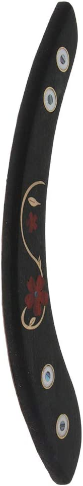 0.5cm #2 Baosity Solid Ebony Guitar Arm Rest for 39-41inch Acoustic Folk Guitar Parts