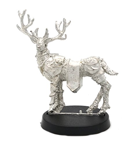 Stonehaven Reindeer Miniature Figure (for 28mm Scale Table Top War Games) - Made in USA (Miniature Reindeer)