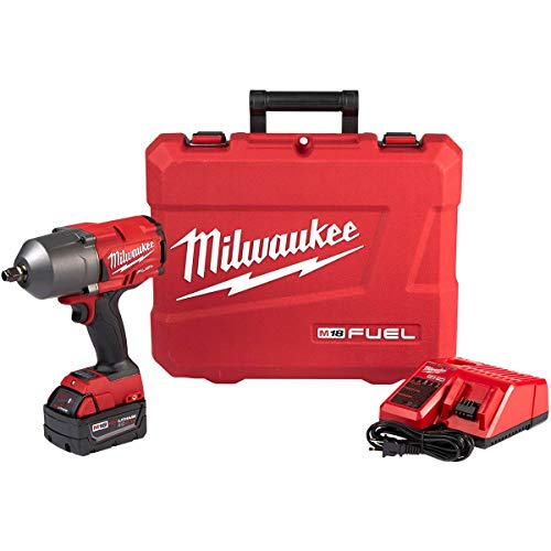 Milwaukee M18 FUEL 18-Volt Lithium-Ion Brushless Cordless 1/2 in. Impact Wrench with...