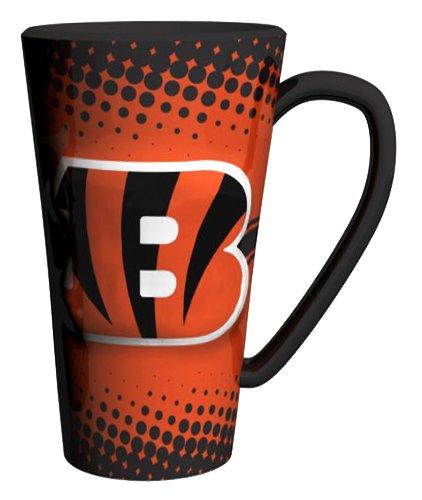 Cincinnati Bengals 16 oz Ceramic Latte Coffee Mug