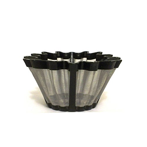 106 Manual Screen (Universal Gold Tone Coffee Filter- The #1 Permanent Coffee Filter. (6-12 Cup))
