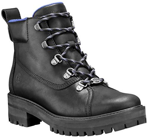 (Timberland Womens Courmayeur Valley WP Hiker, Jet Black Mincio, Size 8.5 )