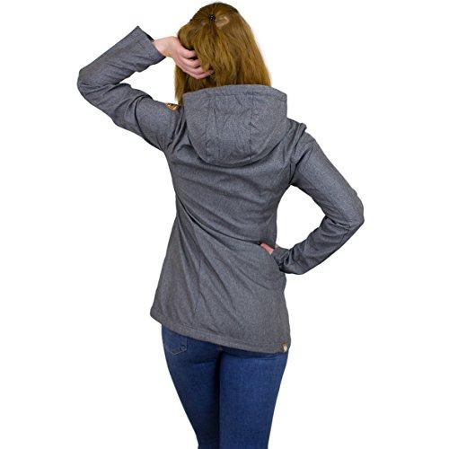 Ragwear - Chaqueta - universidad - para mujer gris