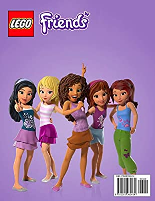 Heartlake Rush Lego Friends Coloring Book Perfect Coloring Illustrations Of Lego Friends For Girls 3 9 Ages By Ray Allan Amazon Ae