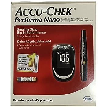 Amazon Com Accu Chek Aviva Blood Glucose Meter Health