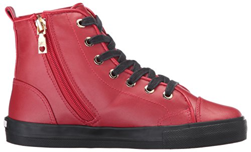 Love Moschino Women's W.Sneakers Hi-Top Sneakers Multicolor (Red/Gold) 1MrJHyQQM