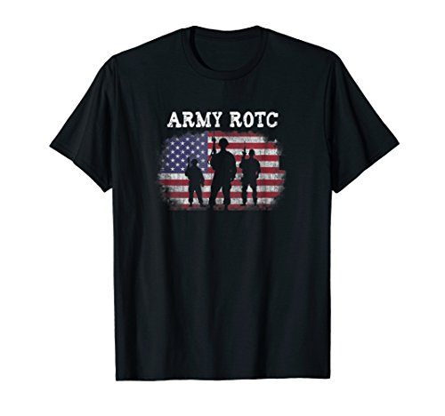 US Army Reserve Officer Training Corps ROTC Tshirt (Best Army Rotc Schools)