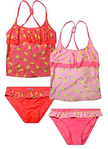 - Real Love Girls' Tankini Bathing Suit Separates (2 Pack) (14-16, Lemons)'