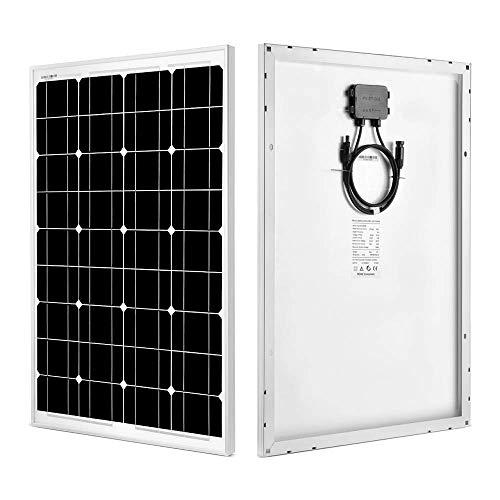 SUNGOLDPOWER Solar Panel 60W 12V Monocrystalline Solar Panel 60 Watt Solar Module Grade A Solar Cell