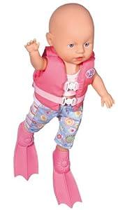Zapf My Little Baby Born Water Fun Swimming Doll Amazon