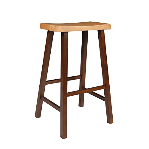 International Concepts Saddle (International Concepts 1S58-683 29-Inch Saddle Seat Stool, Cinnemon/Espresso)