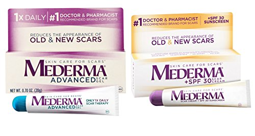 Mederma Advanced Scar Gel & Scar Cream Plus