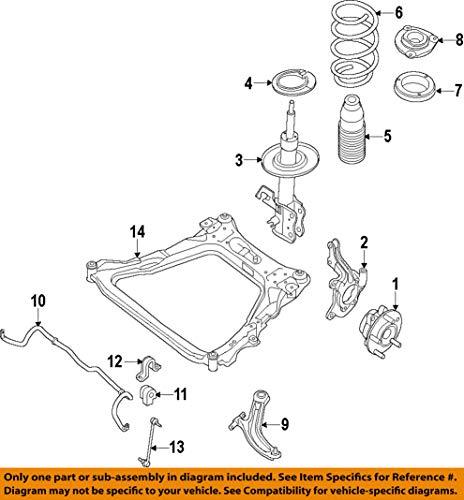 Nissan E4303-9PB0A Strut Kit-Frt Suspension by Nissan (Image #2)