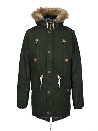 Rosin solid Uomo Giacca solid Giacca Parka OwT8nq