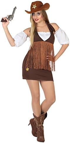 Cowgirl Atosa 17950 Misses Costume Taglie M