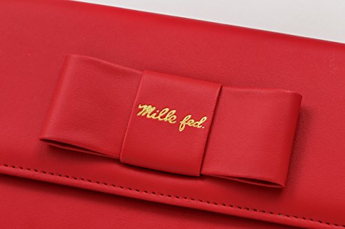 MILKFED. Ribbon Wallet Shoulder Bag Book 画像 C