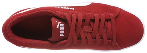 Basses Baskets Mixte Dahlia Puma V2 White Rouge Smash puma Adulte red twAwqEPxI