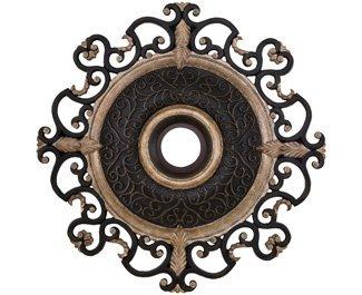 Minka Aire Walnut Classic Ceiling Fan (Minka Lavery CM7038-STW Ceiling Medallion Minka Aire)