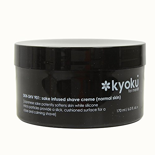 Price comparison product image Kyoku Sake Infused Normal 6-ounce Shave Creme