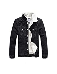 CouGoo Thicken Fleece Winter Jackets Men's Coats Cotton Men's Jackets Military