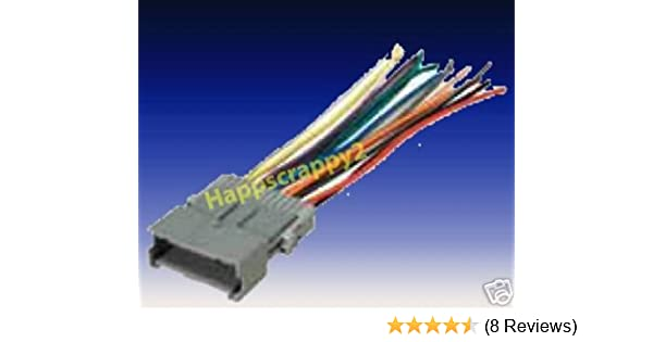 saturn stereo wiring harness amazon com stereo wire harness saturn ion 04 05 2004 2005  car  stereo wire harness saturn ion