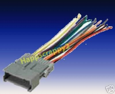 amazon com: stereo wire harness saturn ion 04 05 2004 2005 (car radio wiring  installation : automotive
