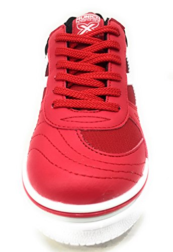 3 Unisex G BLANCO ROJO de Deporte Munich Zapatillas Adulto Indoor 5fwx4q