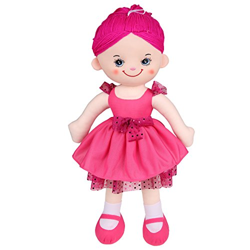 Funmily Soft Dolls With Dress Kids Plush Toys 19.5