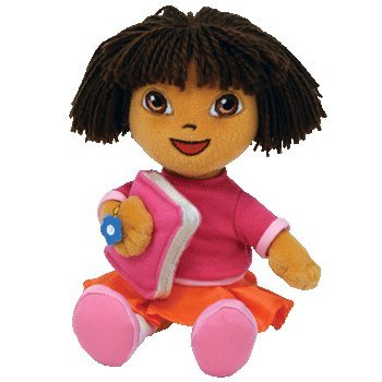 TY Dora the Explorer - Back to School Beanie Baby  Amazon.co.uk  Toys    Games 30ed0f75e22