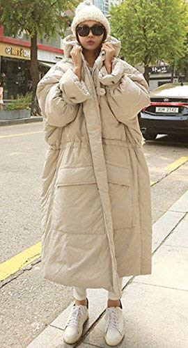 Oversize Chic Hiver Gaine Mode Large Longues Femme Doudoune Capuche El A Boyfriend Manteau Automne ZPTXTqt