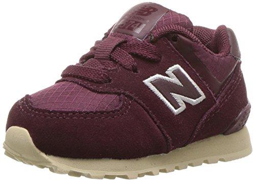 Ny Balance Unisex-kinder Kl574wtg M Sneakers Rød (bordeaux) jAYulhVV