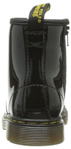 Dr. Martens BROOKLEE Patent Mädchen Bootschuhe, Schwarz (Black), 19