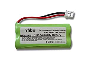 vhbw BATERÍA 700mAh (2.4V) apta para SIEMENS Gigaset sustituye V30145-K1310-X383, S30852-D1640-X1, C30852D1640X1, S30852-D1640-X1, V30145-K1310-X359