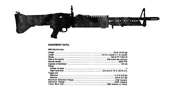 Amazon com: ICK Vinyl TM Machine Gun, 7 62-MM, M60 W/E
