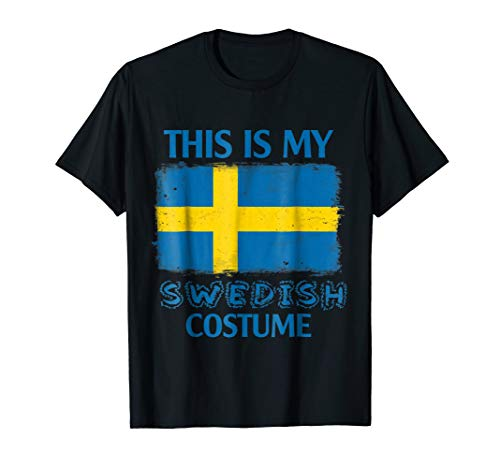 This is my Swedish costume shirt Sweden -