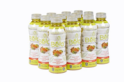 Wellness Beverage - Béla Harmony - Turmeric & Tulsi (Holy Basil) in a blend of 6 herbs and antioxidants, with minerals - Elegant Tropical flavor
