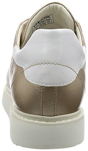 Geox Damen D Thymar Een Gouden Schoenen (champagnecb500)