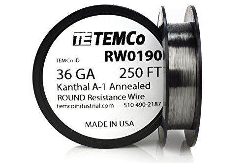 TEMCo Kanthal wire Gauge Resistance
