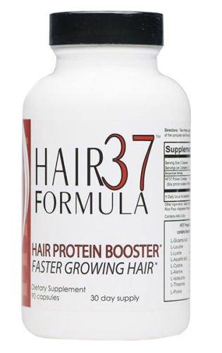 37 Hair Vitamins Formula (Hair Formula 37 Protein Amino Booster Longer, Stronger Hair Growth Faster About Hair)