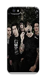 Creative Avenged Sevenfold Polycarbonate Hard Case Cover for iPhone 5/5S