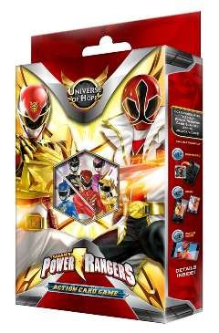 power rangers cards - 1