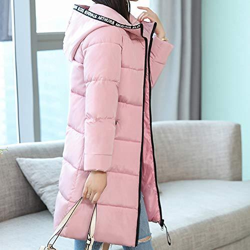 Cher Épais Chaud À Chaude Coton Casual Manteau Rose Femmes Pour La Mode En Susenstone Doudoune Moyen Paragraphe Pas Hiver Long Slim Parka wPxX7H