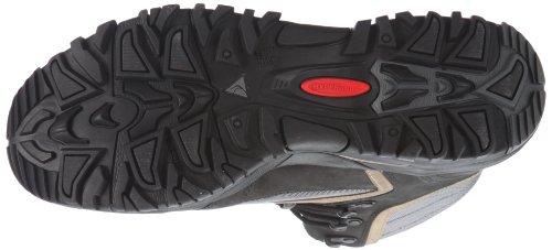 Dachstein Chamonix Tex 311222-1000/1300 - Zapatillas de senderismo de cuero nobuck para hombre Negro