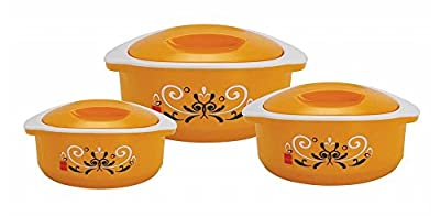 Cello Hot-Treat Casserole Insulated Hot Pot, Food Warmer, 3-Piece Set