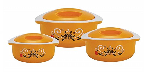 Cello Hot-Treat Casserole Insulated Hot Pot, Food Warmer, 3-Piece Set
