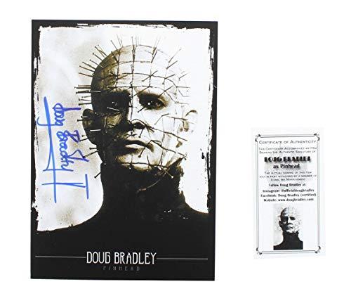 HellRaiser Doug Bradley (Pinhead) 5x7 Autographed Print w/ CoA -