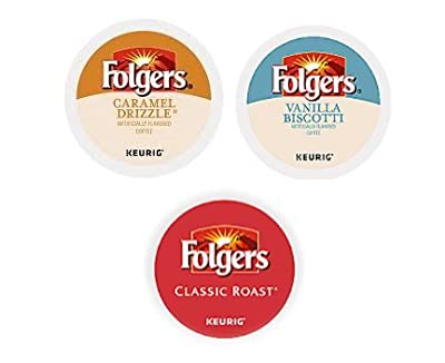 Folgers K Cups Variety Mix - 30 Count